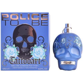 Bellezza Uomo Eau de toilette Police To Be Tattoo Art Edt Vaporizador  125 ml