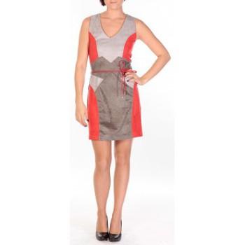 Abbigliamento Donna Abiti corti Dress Code Robe Fraise rouge/gris/anthracite Rosso