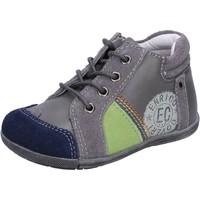 Scarpe Bambino Sneakers basse Enrico Coveri sneakers grigio camoscio pelle BX827 Grigio