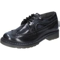 Scarpe Bambino Derby Beverly Hills Polo Club scarpe bambino  classiche grigio pelle lucida BX866 Grigio