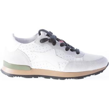 Scarpe Donna Sneakers basse Ishikawa Donna sneaker in pelle BIANCO e camoscio grigio bianco