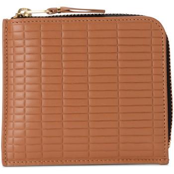 Borse Donna Portafogli Comme Des Garcons Portafoglio  Brick Line in pelle Marrone