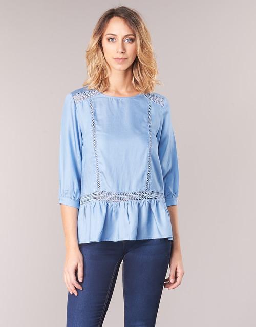 Abbigliamento Kocle Betty Donna 1750 Camicette Blu Consegna London Gratuita xBoerCdW
