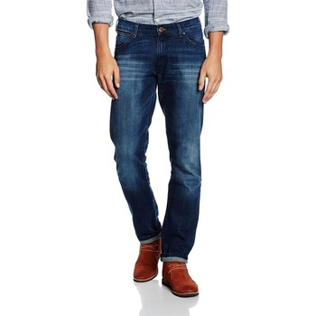 Abbigliamento Uomo Jeans slim Wrangler Larston Blaze W18S8282T granatowy