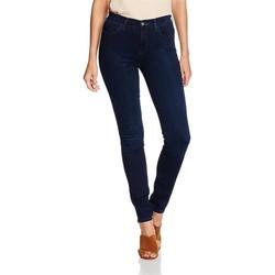 Abbigliamento Donna Jeans skynny Wrangler High Skinny W27HBV78Z granatowy