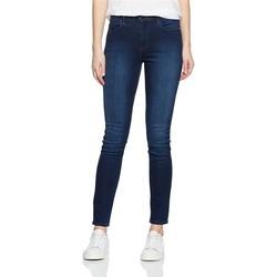 Abbigliamento Donna Jeans skynny Wrangler High Rise Skinny Subtle Blue W27HX786N granatowy