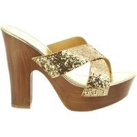 Scarpe Donna Sandali Top Way B736910-B7200 Gold
