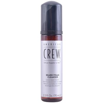 Bellezza Uomo Trattamenti post-rasatura American Crew Crew Beard Foam Cleanser  70 ml