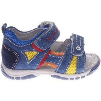 Scarpe Bambino Sandali Nero Giardini P823160M-215-215 - Sandalo in  Blu