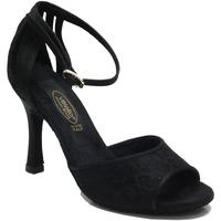 Scarpe Donna Sandali Vitiello Dance Shoes Scarpa da donna per ballo tango in macramè nero Macramè Nero