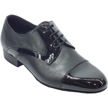 Sandali Vitiello Dance Shoes  Scarpa da uomo per ballo standard in nappa e verniciato colore n