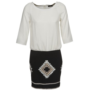 Abbigliamento Donna Abiti corti One Step RAMBOUTAN Bianco / Nero