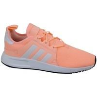 Scarpe Unisex bambino Sneakers basse adidas Originals X Plr J Rosa