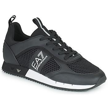 Scarpe Sneakers basse Emporio Armani EA7 LACES U Nero