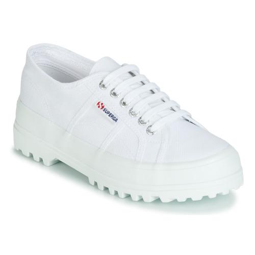 Scarpe Donna Sneakers basse Superga 2555 COTU Bianco