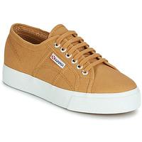 Scarpe Donna Sneakers basse Superga 2730 COTU Beige