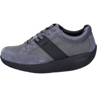 Scarpe Donna Sneakers basse Mbt sneakers grigio tessuto camoscio performance BT41 Grigio