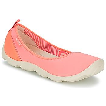 Scarpe Donna Ballerine Crocs DUET BUSY DAY FLAT Arancio