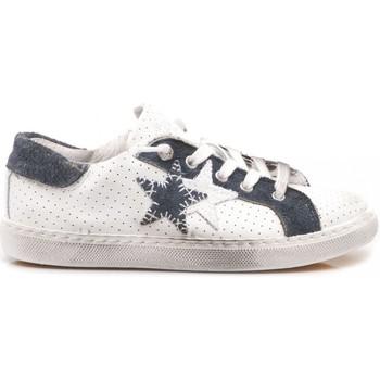 Scarpe Unisex bambino Sneakers basse 2 Stars 2-Star Sneakers Basse Bambini  Pelle Bianco- 07f2eb02119