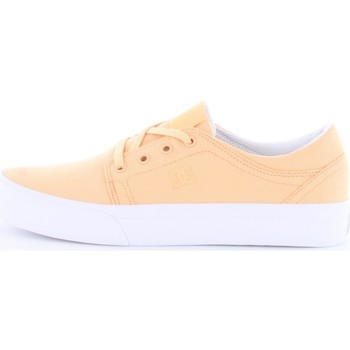 Scarpe Unisex bambino Sneakers basse DC Shoes adgs30061-dec-girls-shoes-trase-tx Phs-rosa-pesco