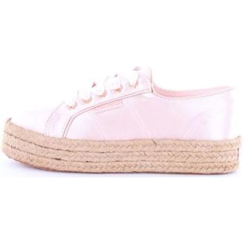 Scarpe Donna Sneakers basse Superga s00c4w0-2730-satincotmetropew Con Zeppa Donna 914-rosa 914-rosa