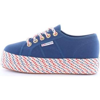 Scarpe Donna Sneakers basse Superga s00c2n0-2790-cotcorw-geraldina X1y-blu-cobalto
