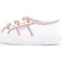 Scarpe Donna Sneakers basse Superga s00c2m0-2750-cotcordw-geraldina 900-bianco