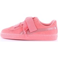 Scarpe Unisex bambino Sneakers basse Puma 364918-suede-heart-snk-jr Basse Donna 05-shell-pink 05-shell-pink