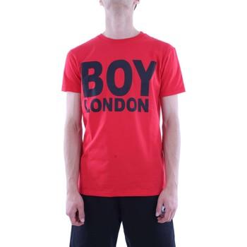 Abbigliamento Uomo T-shirt maniche corte Boy London BL1029-MAGLIA-T-SHIRT T-shirt Uomo Rosso Rosso