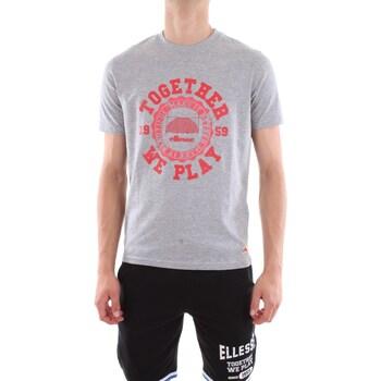 Abbigliamento Uomo T-shirt maniche corte Ellesse EFM812S18-T-SHIRT Gm03-grigio-melange