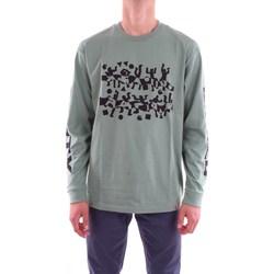 Abbigliamento Uomo T-shirts a maniche lunghe Carhartt i024746-l-s-world-party-t-shirt 974-89-verde