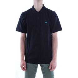 Abbigliamento Uomo Polo maniche corte Carhartt i023808-s-s-madison-polo 89-90-nero