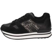 Scarpe Unisex bambino Sneakers basse Hogan HXC2220T548GAC09TP Sneakers Bambina Nero Nero