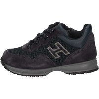 Scarpe Unisex bambino Sneakers basse Hogan HXT0920V310IBQ2318 Sneakers Bambino Blu Blu