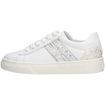 Scarpe Unisex bambino Sneakers basse Hogan HXC3400K390IDG0351 Sneakers Bambina Bianco Bianco