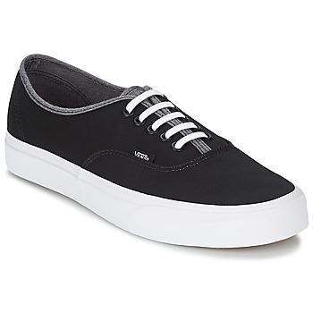 Scarpe Uomo Sneakers alte Vans AUTHENTIC Nero / Grigio