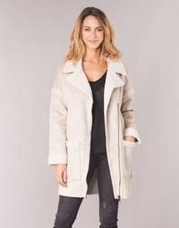 Abbigliamento Donna Cappotti Only ONLFELICITY Beige