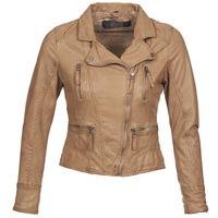 Abbigliamento Donna Giacca in cuoio / simil cuoio Oakwood 60862 COGNAC