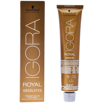 Bellezza Accessori per capelli Schwarzkopf Igora Royal Absolutes 6-70  60 ml