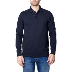 Abbigliamento Uomo Polo maniche lunghe Armani Exchange 8NZF79 ZJ81Z Blu