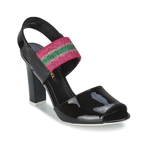 Sonia Rykiel Sandali 683902 spartoo-shoes neri Estate Aberdeen WDBKqm
