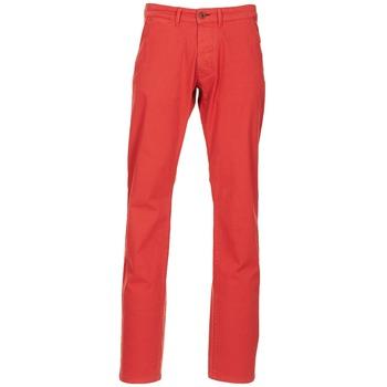 Abbigliamento Uomo Chino Jack & Jones BOLTON DEAN ORIGINALS Rosso