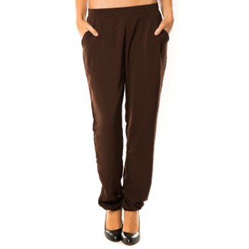 Abbigliamento Donna Pantaloni da tuta Dress Code Pantalon R9771 Marron Marrone