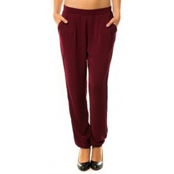 Abbigliamento Donna Pantaloni da tuta Dress Code Pantalon R9771 Bordeaux Rosso