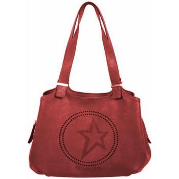 Borse Donna Tote bag / Borsa shopping Thierry Mugler Sax Elixir 1 MT4Q3W1K33 Cognac  Bordeaux Rosso
