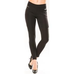 Abbigliamento Donna Leggings Comme Des Filles Comme Des Garçons Pantalon Clara's 9108 Noir Nero