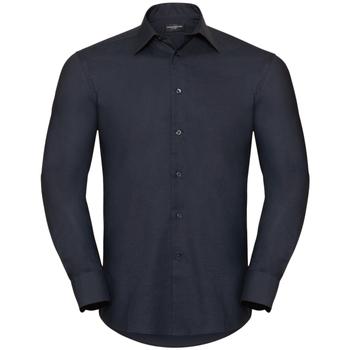Abbigliamento Uomo Camicie maniche lunghe Russell 922M Nero