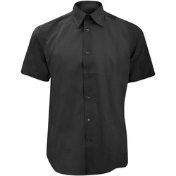 Abbigliamento Uomo Camicie maniche corte Russell 923M Nero
