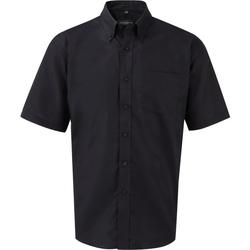 Abbigliamento Uomo Camicie maniche corte Russell 933M Nero