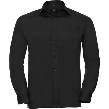 Abbigliamento Uomo Camicie maniche lunghe Russell 934M Nero